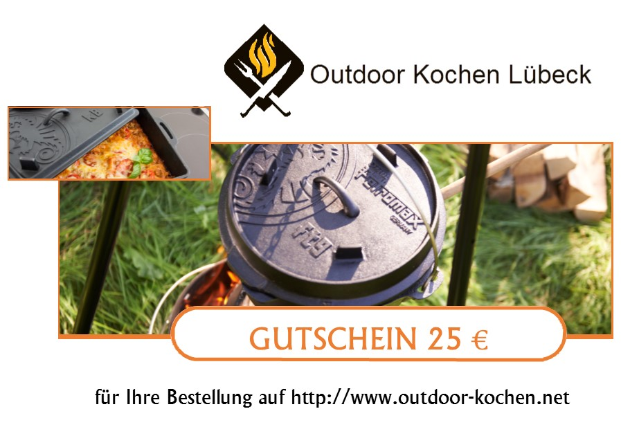 geschenkgutscheine outdoor kochen l beck. Black Bedroom Furniture Sets. Home Design Ideas