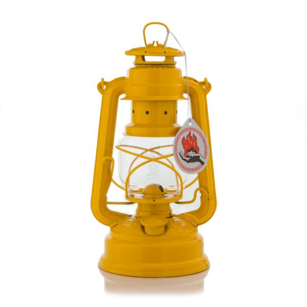 Feuerhand 276 Sturmlaterne signalgelb