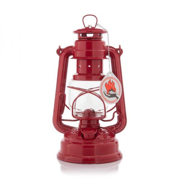 Feuerhand 276 Sturmlaterne rubinrot