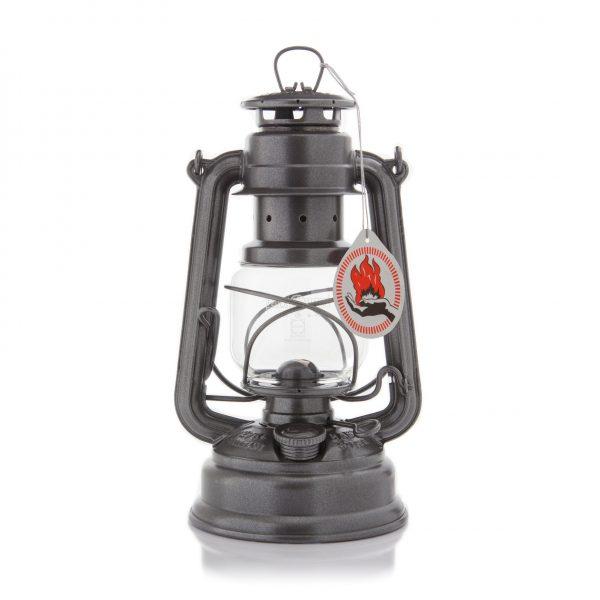 Feuerhand 276 Sturmlaterne Sparkling Iron
