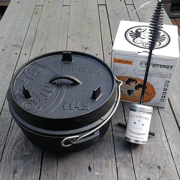 Petromax ft4.5 Feuertopf Dutch Oven Einsteigerpaket