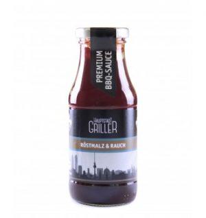 Hauptstadtgriller BBQ Rauchmalz Sauce, bio