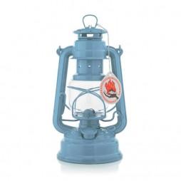 Feuerhand 276 Sturmlaterne Pastellblau