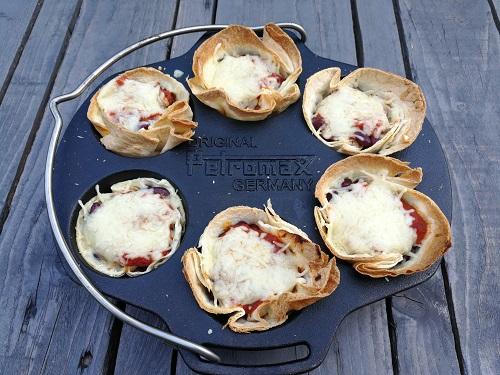 Tortilla-Muffins aus der Petromax Muffinform mf6