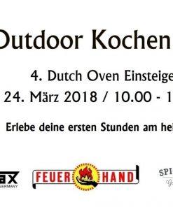 4. Dutch Oven Einsteiger Kurs