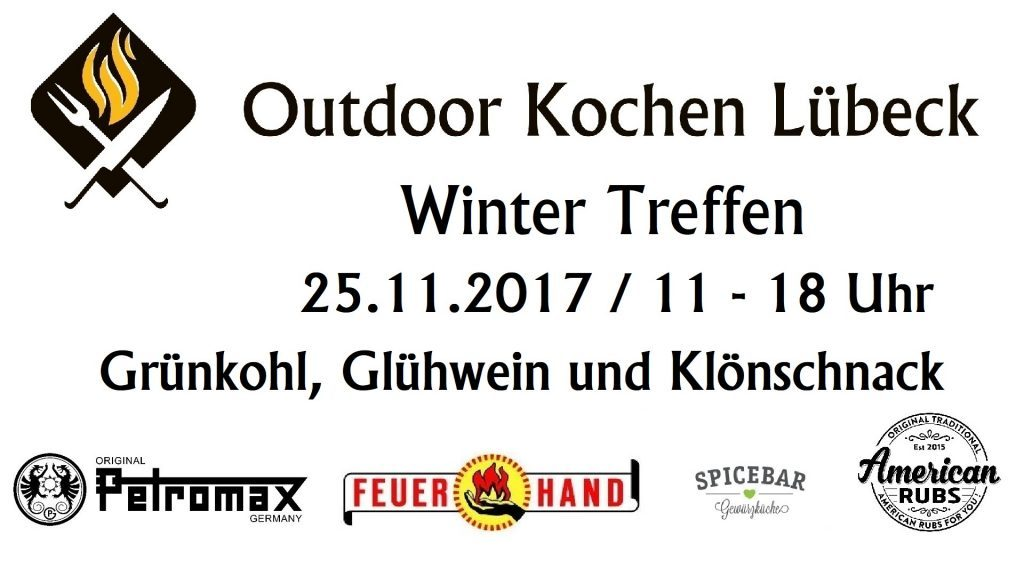 winter treffen outdoor kochen l beck. Black Bedroom Furniture Sets. Home Design Ideas