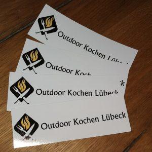 Outdoor Kochen Lübeck Aufkleber