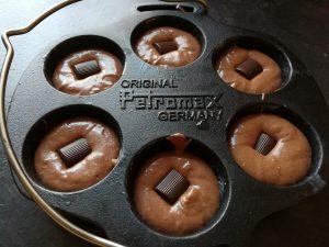 Mon Chéri Muffins aus der Petromax Muffinform mf6