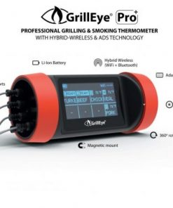 GrillEye PRO Plus - professionelles Grill- und Smoker-Thermometer