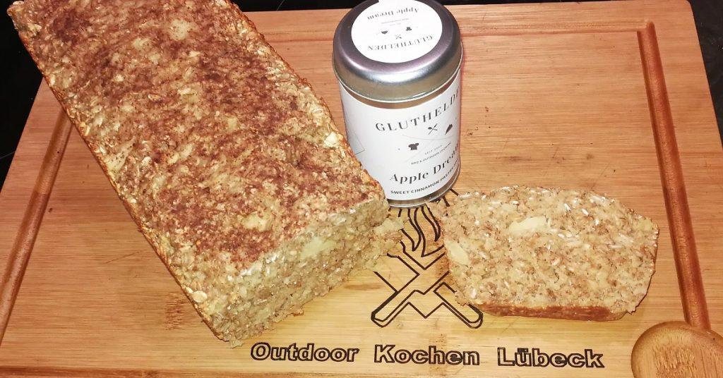 Haferflocken-Quark-Brot