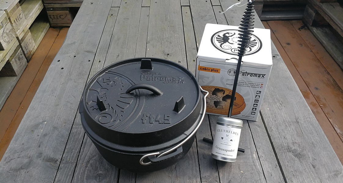 dutch oven einsteigerpaket archive outdoor kochen l beck. Black Bedroom Furniture Sets. Home Design Ideas