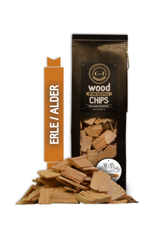 Grillgold Wood Smoking Chips - Erle
