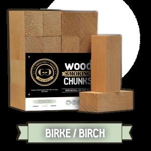 Grillgold Wood Smoking Chunks - Birke