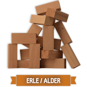 Grillgold Wood Smoking Chunks - Erle