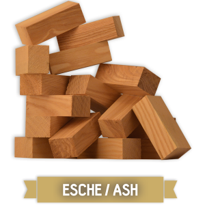 Grillgold Wood Smoking Chunks - Esche