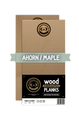 Grillgold Wood Grilling Planks - Ahorn
