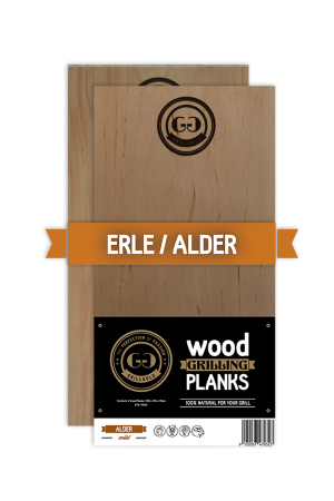 Grillgold Wood Grilling Planks - Erle