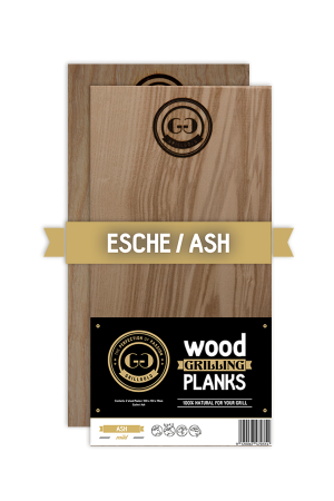 Grillgold Wood Grilling Planks - Esche