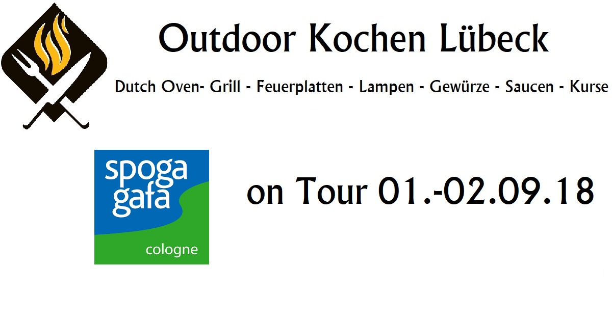 treffen auf der spoga outdoor kochen l beck. Black Bedroom Furniture Sets. Home Design Ideas