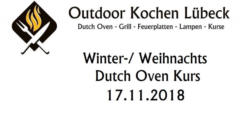 Winter Weinnachts Dutch Oven Kurs