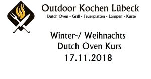 Winter Weinnachts Dutch Oven Kurs
