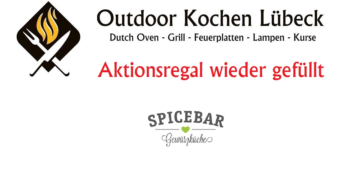 aktion outdoor kochen l beck. Black Bedroom Furniture Sets. Home Design Ideas