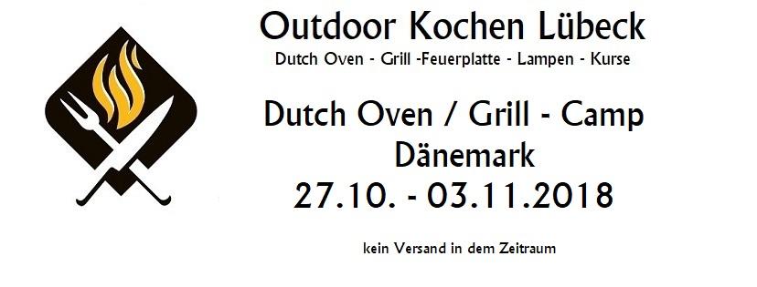 Versandhinweis 27.10 - 3.11 - Dutch Oven-GrillCamp Dänemark