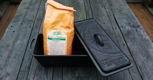 Petromax Kastenform k4 inkl. Brotbackmischung