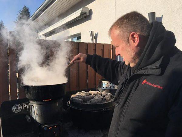 Wurzel-Ingwer-Lebkuchen-Suppe aus dem Dutch Oven