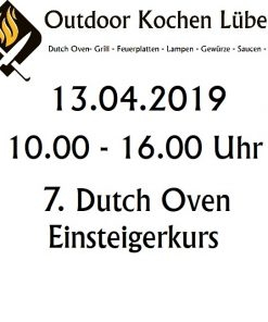 7. Dutch Oven Einsteigerkurs