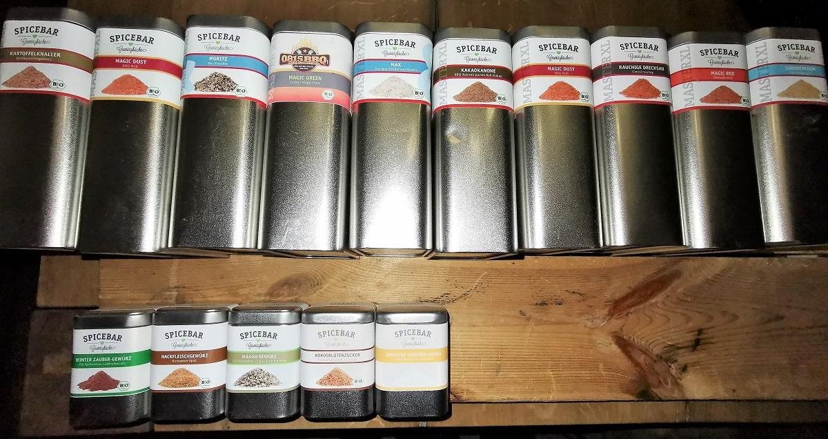 spicebar gew rzmischungen archive outdoor kochen l beck. Black Bedroom Furniture Sets. Home Design Ideas