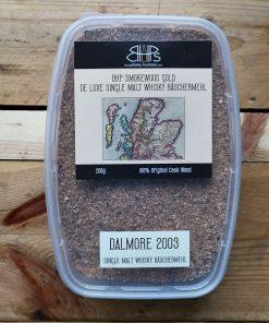 bhp smokewood gold dalmore 2003 single malt whisky räuchermehl