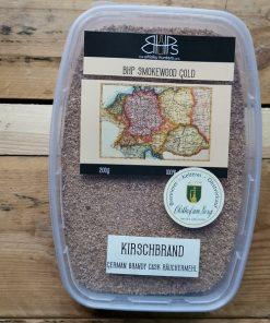 BHP Smokewood Gold Kirschbrand Deutsches Weinbrandfass Räuchermehl