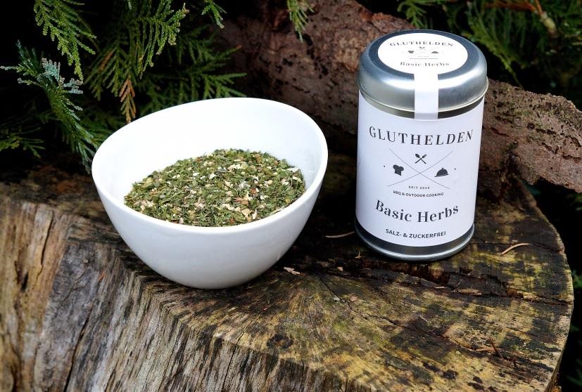 Gluthedlen Basic Herbs – Kräutermischung