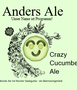 Anders Ale - Crazy Cucumber Ale