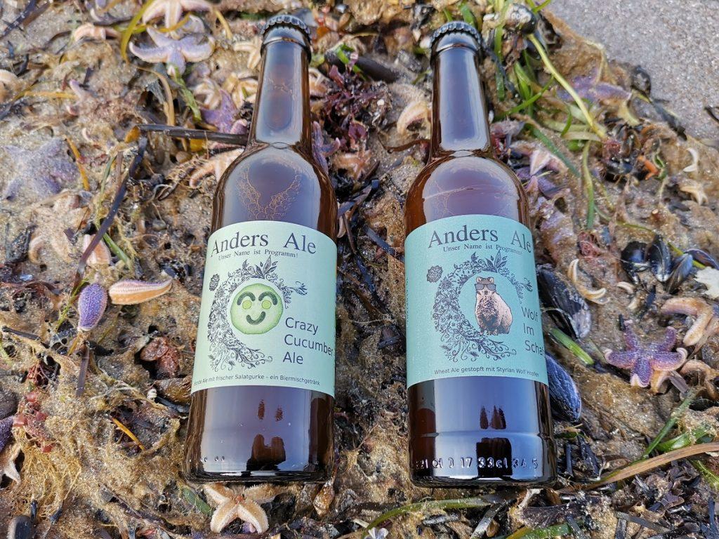 Zwei neue Sorten Anders Ale für die heißen Tage draußen