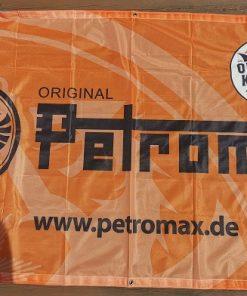 Petromax Meshbanner mit Logo