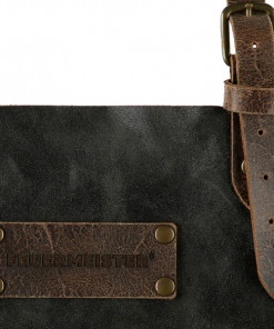 FEUERMEISTERFEUERMEISTER® Lederschürze in Antikleder Farbe Braun mit Taschen® Lederschürze in Antikleder Farbe Braun mit Taschen