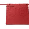 FEUERMEISTER® Premium-Halb-Lederschürze aus Nappaleder Farbe rot