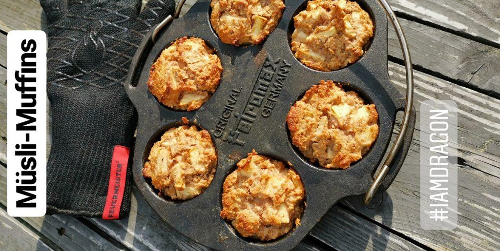 Müsli-Muffins aus der Petromax Muffinform