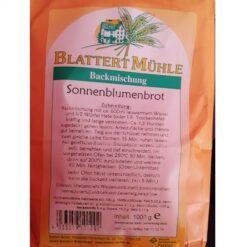 Brotbackmischung - Sonnenblumenbrot