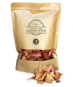 Smokey Olive Wood - Mandelholz Chips Nº3