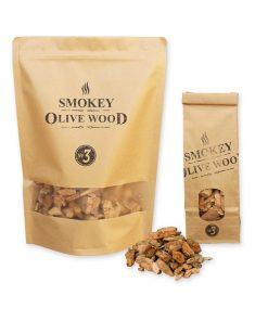 Smokey Olive Wood - Olivenholz Räucherspäne Nº3