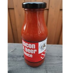 sellfood Bacon & Beer BBQ-Sauce mit Anders Ale Stout_