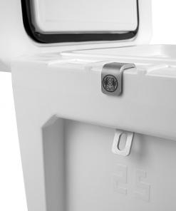 Petromax Schlosshalterung mit Flaschenöffner für die Kühlbox_