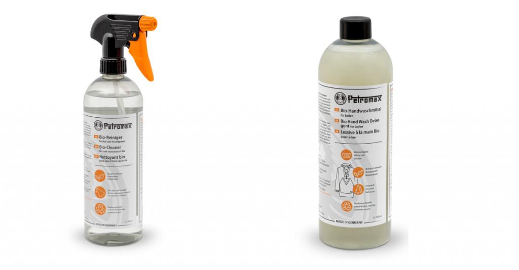 Gegen Ruß und Mief - Reinigungsmittel von Petromax