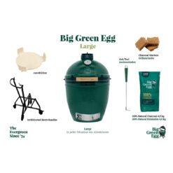 big green egg large starter paket